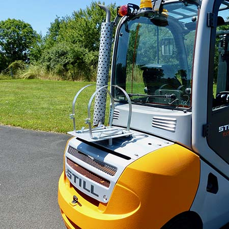 Nigrowsky : Sangle pour citerne de gaz diamètre 360mm. Convient aux véhicules à carburation GPL, chariot élévateur. Fabrication Made in France